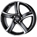 ALUTEC Shark 7,5 x 17 5*100 Et: 35 Dia: 63,3 Racing Black Front Polished