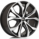 ALUTEC W10X 8 x 18 5*150 Et: 51 Dia: 110,1 Racing Black Front Polished