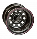 Off-Road-Wheels Black 7 x 16 5*139,7 Et: -19 Dia: 110 Black