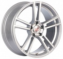 1000 Miglia MM1002 8,5 x 19 5*120 Et: 33 Dia: 72,6 Matt Silver Polished