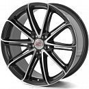 1000 Miglia MM1007 8 x 18 5*112 Et: 35 Dia: 66,6 Dark Anthracite Polished