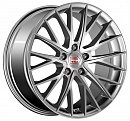 1000 Miglia MM1009 8 x 18 5*112 Et: 35 Dia: 66,6 Silver High Gloss