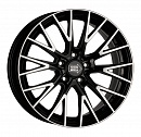 1000 Miglia MM1009 8 x 18 5*112 Et: 35 Dia: 66,6 Gloss Black Polished