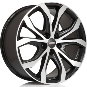ALUTEC W10X 9 x 20 5*108 Et: 35 Dia: 63,4 Racing Black Front Polished
